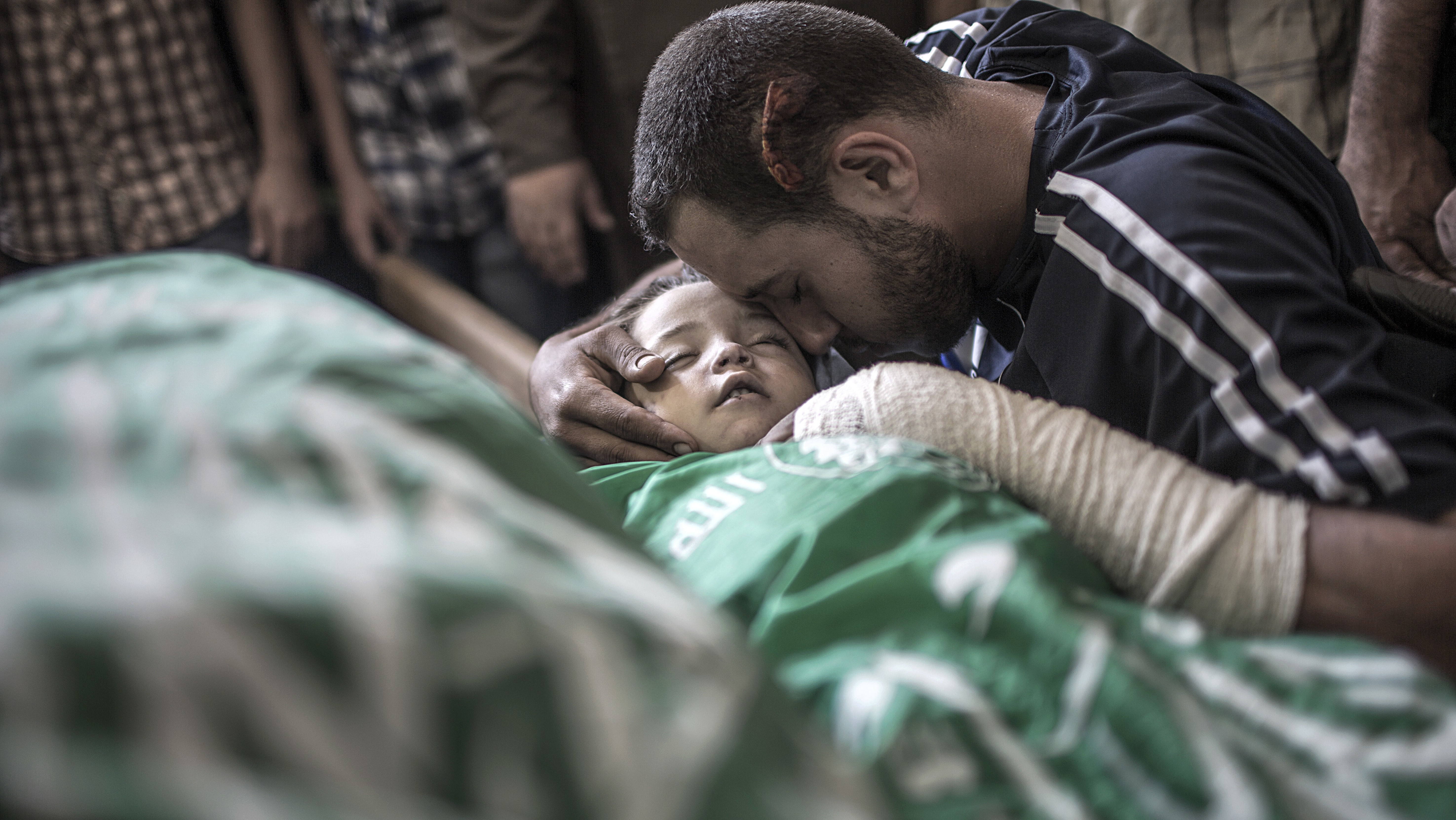 Israeli Airstrikes in the Gaza Strip Kill Pregnant Woman and Her Toddler