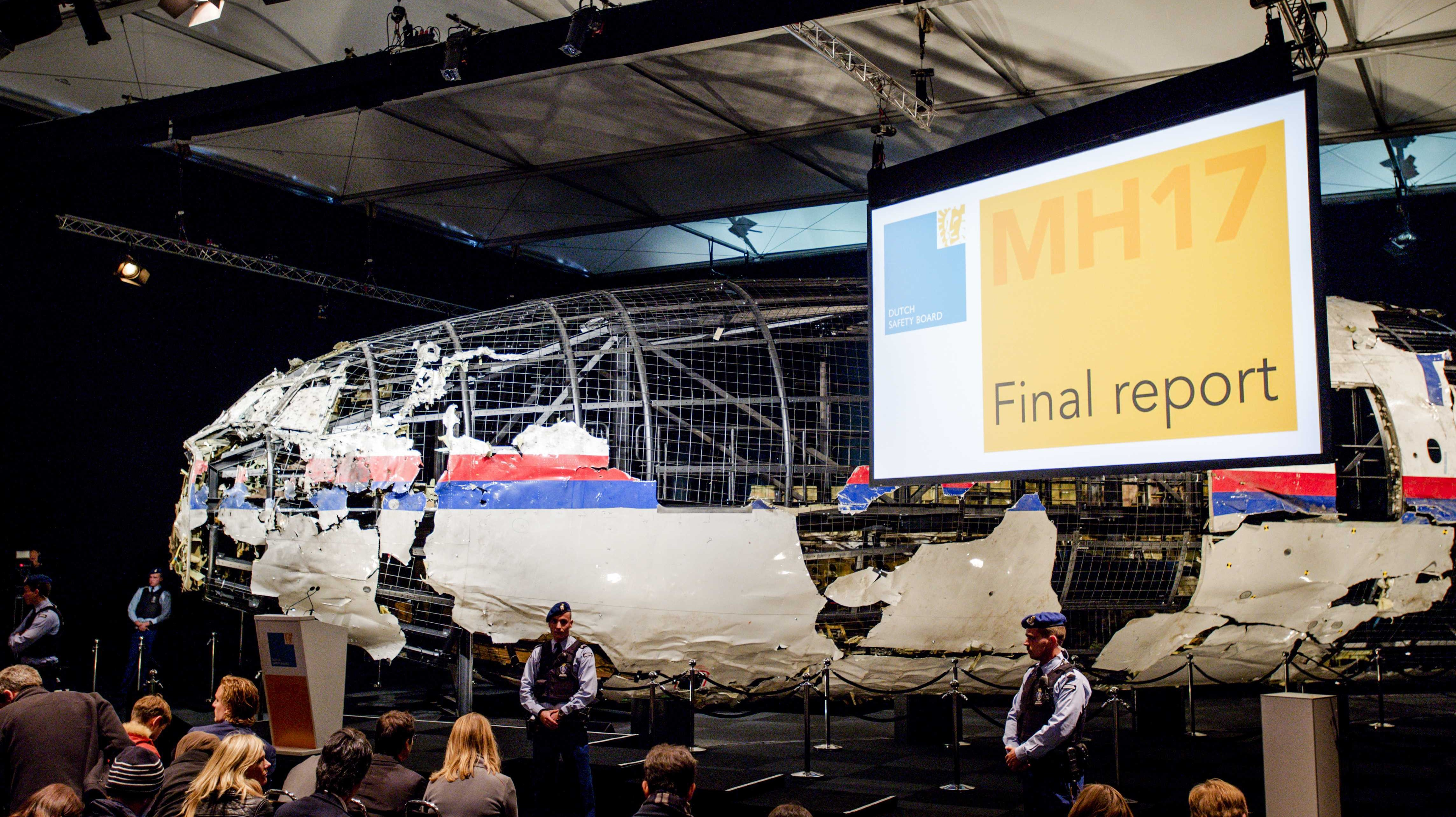 Russia Says That Conclusions on Malaysia Airlines Flight MH17 Crash Are 'Biased'