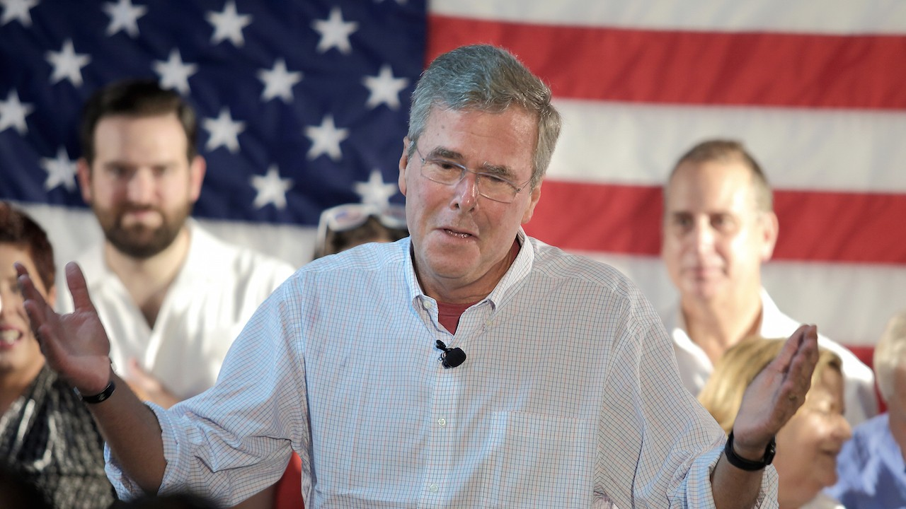Jeb Bush Likes Superheroes Because of Capitalism and Hot Women