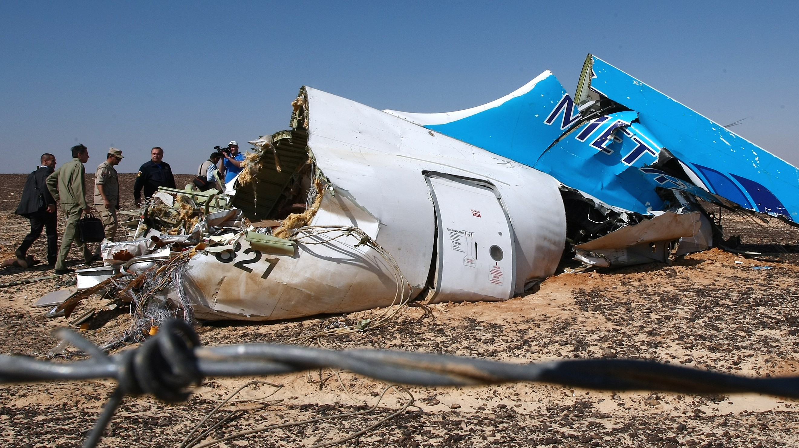 US Officials Are Saying the Russian Airliner That Crashed in Egypt Was Likely Bombed