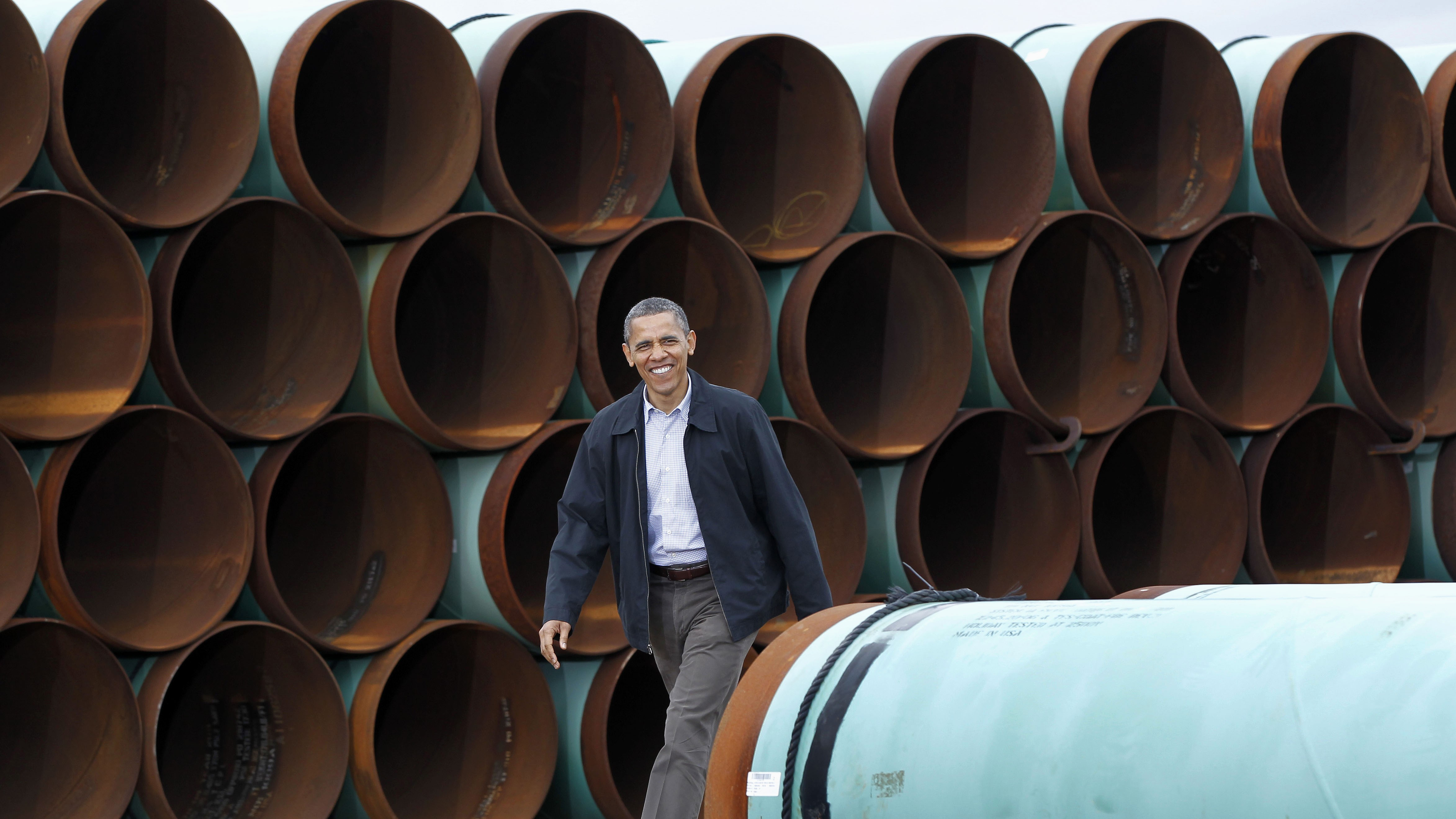 Breaking: President Obama Rejects Keystone XL Pipeline