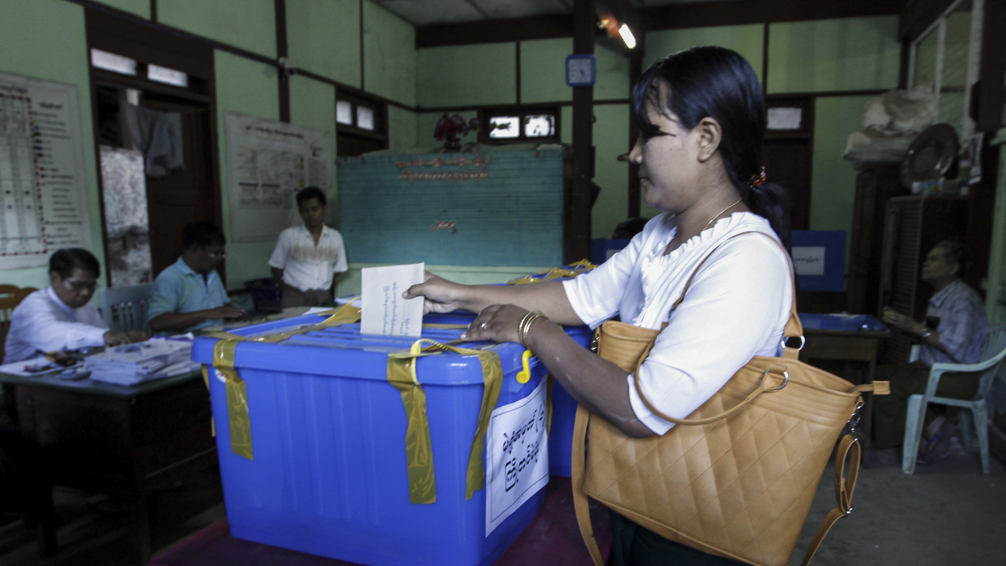 Hundreds of Thousands of Citizens Won't Be Allowed to Vote in Myanmar's Historic Election