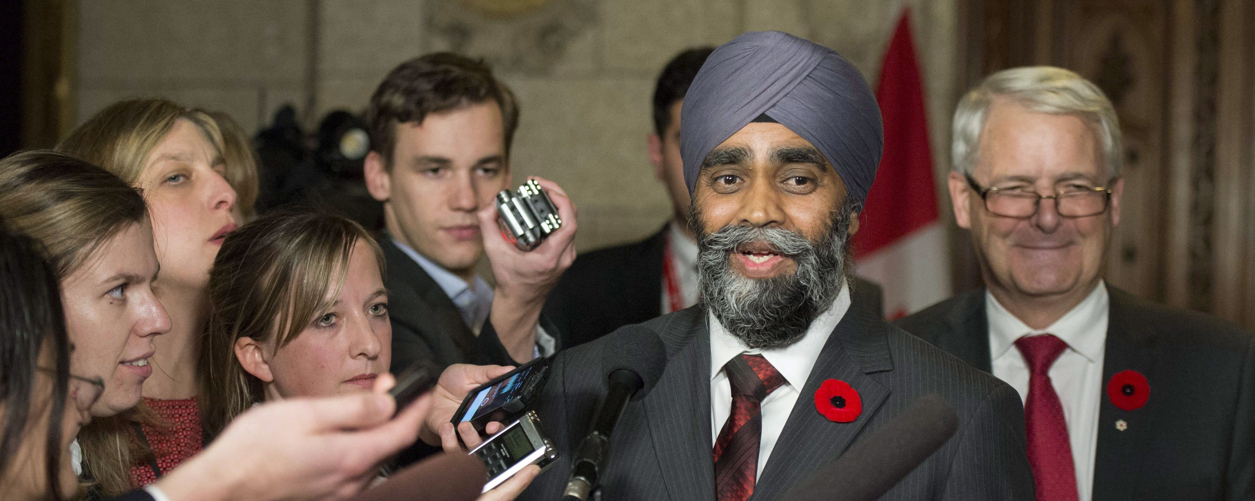 The Canadian Military Won't Stand for Any Racism Against New Defense Minister