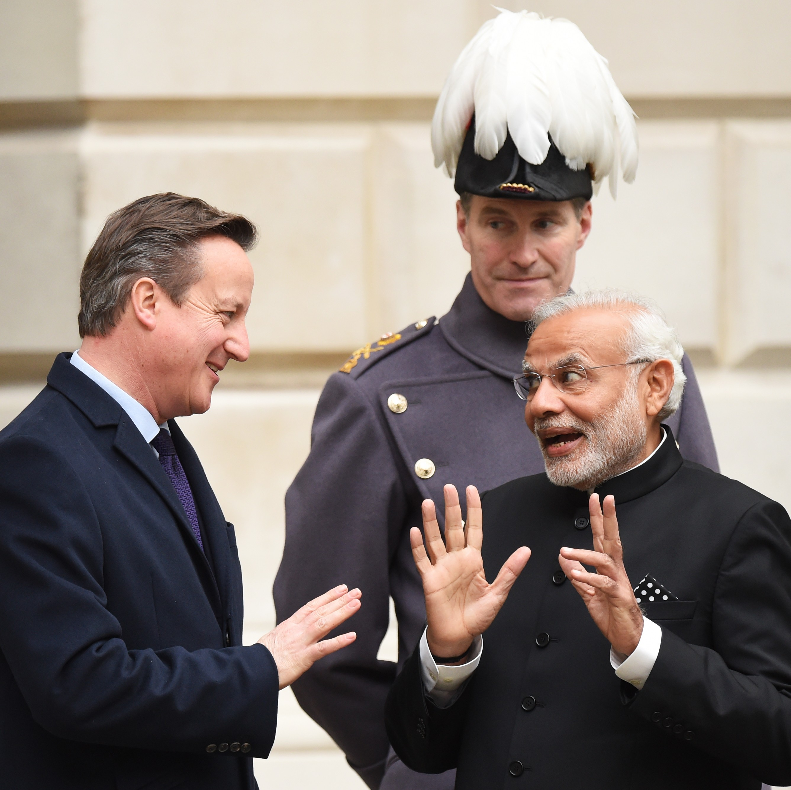 Indian Pm Gets Rock Star Reception In Uk But Back Home Hes Accused