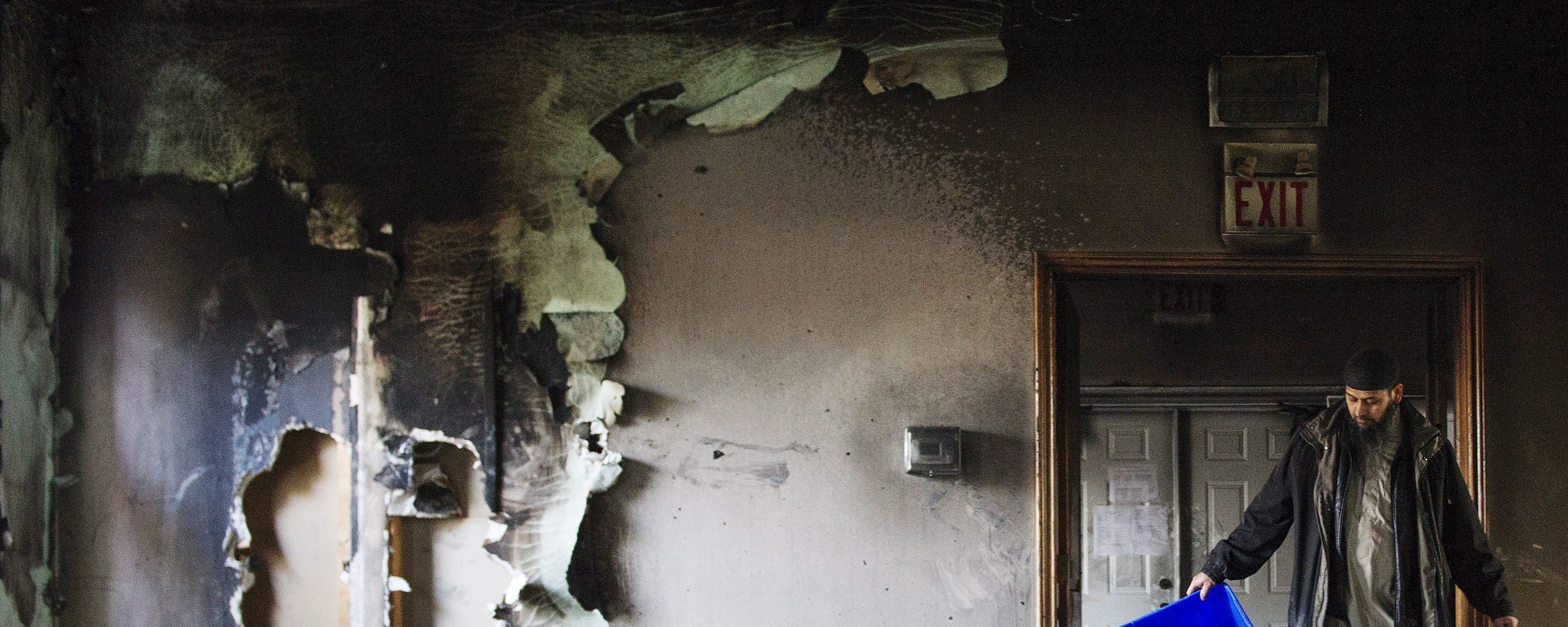 Canadian Muslims Report More Backlash After Ontario Mosque Torched