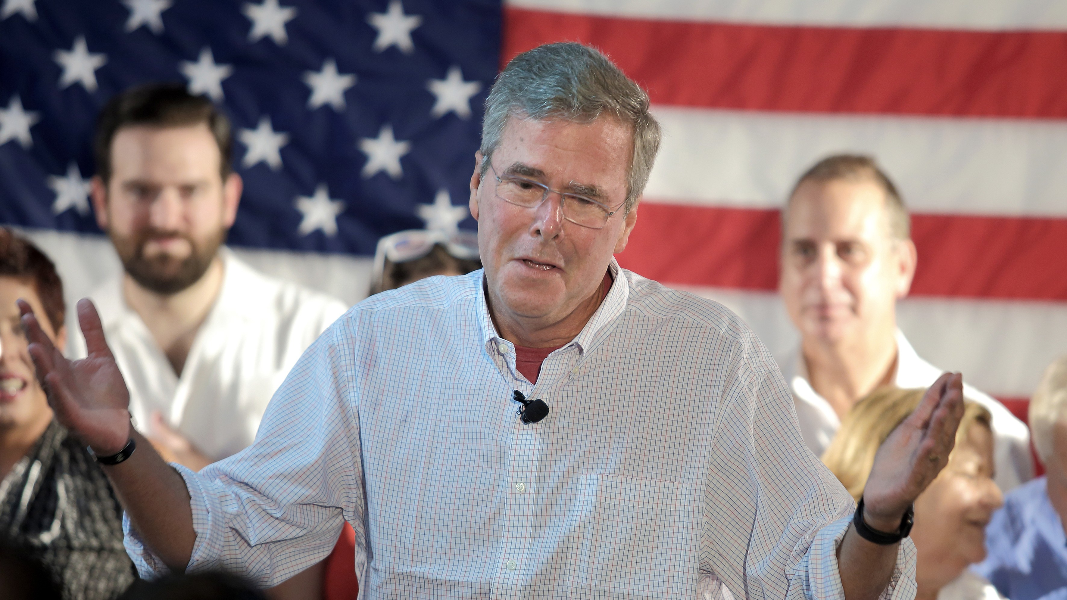 Jeb Bush Is Cool With Syrian Refugees Who Can 'Prove' They Are Christian