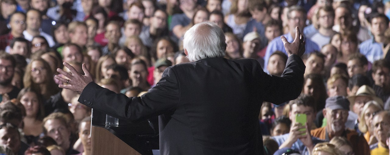 a short analysis of the speech and presidential campaign of bernie sanders Bernie sanders never came close to beating hillary clinton but from an improbable start he built a following that will shape politics and the democratic party for.