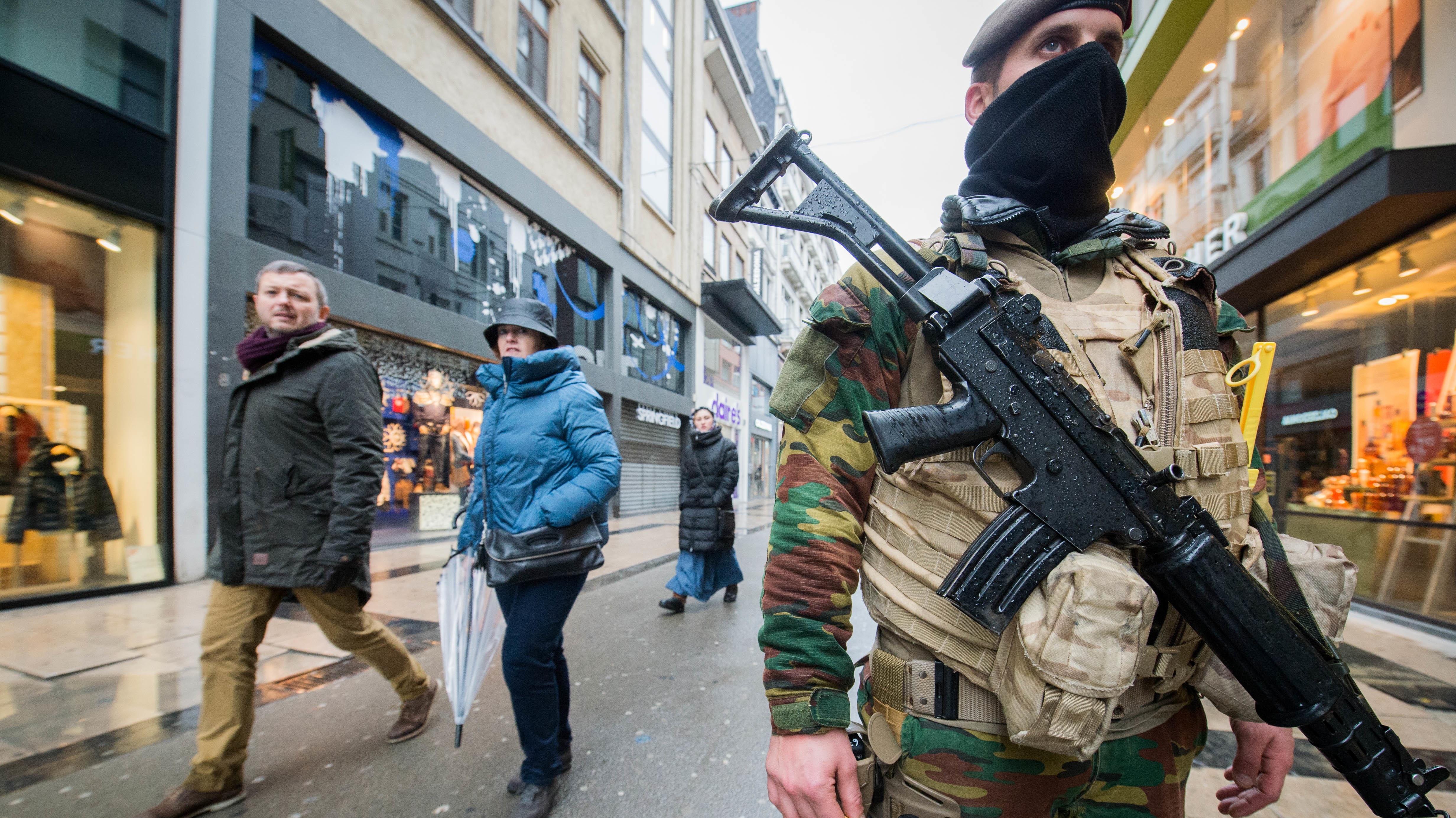 Brussels on Lockdown After 'Serious and Imminent Threat' of Terror Attack