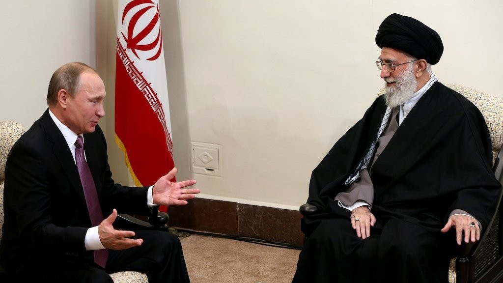 Russia Relaxes Ban on Nuclear Tech Exports to Iran as Putin Meets with Ayatollah Khamenei