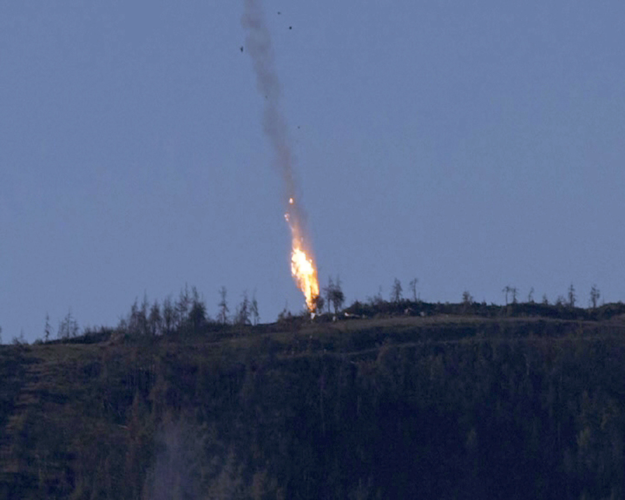 Blue Fighter Jets A Russian Fighter Jet Has Been Downed Over