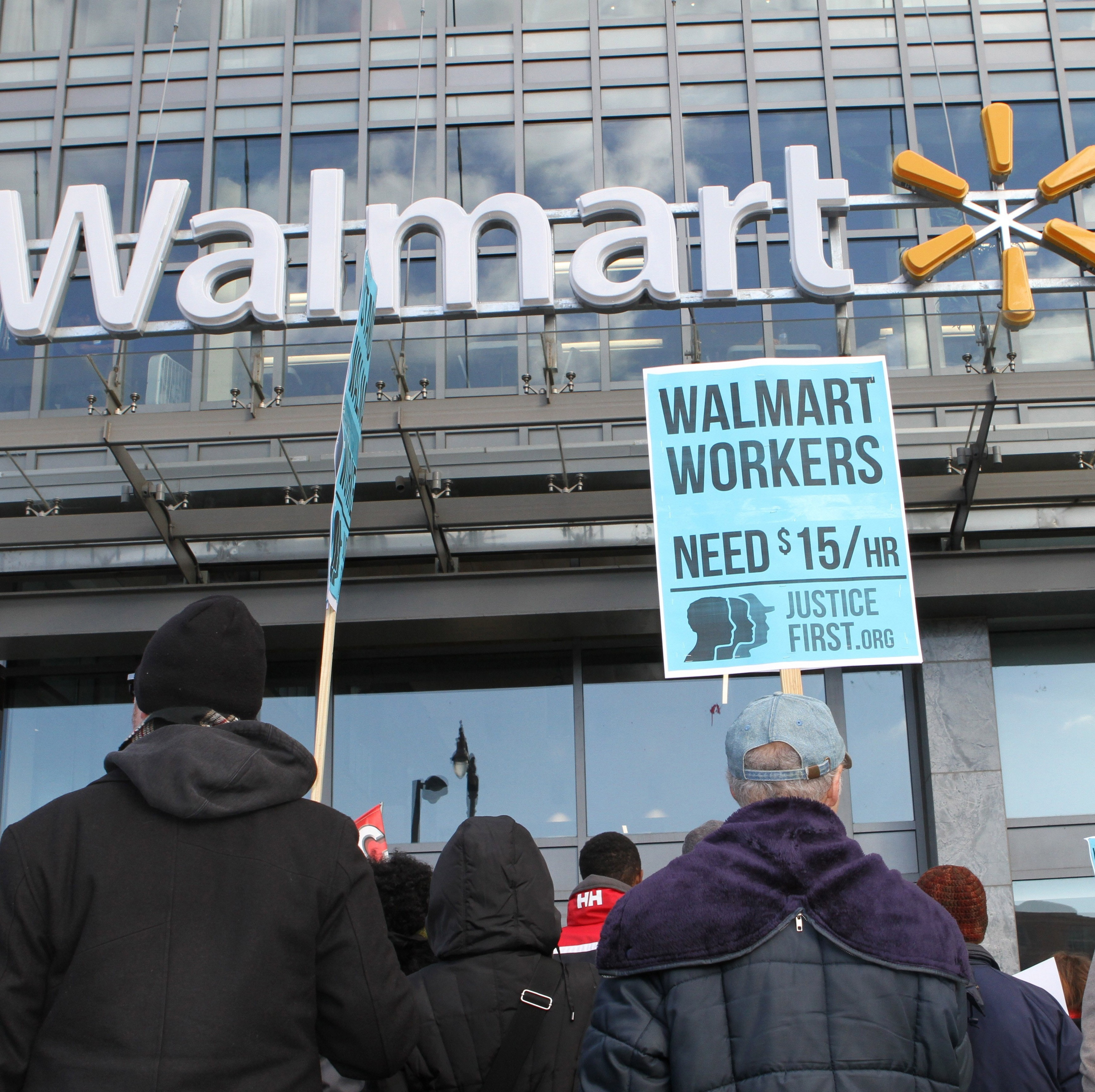 fight for vice news black friday brings renewed call for better wages at walmart