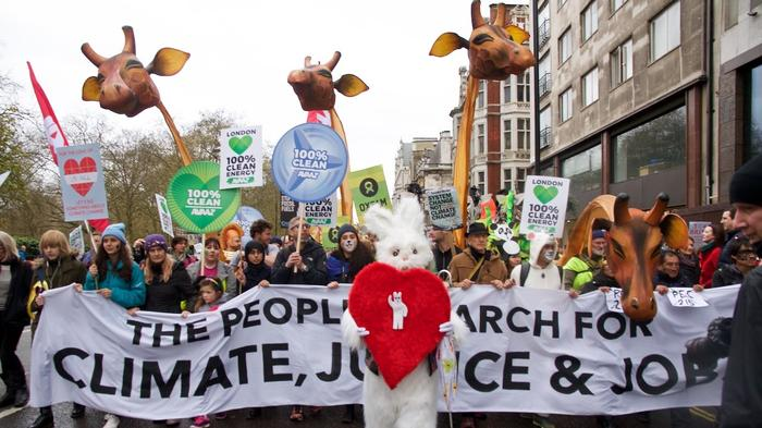 What We Saw at the Huge London Protest Demanding Action on Climate Change