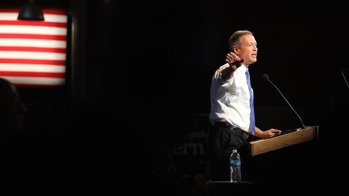 Martin O'Malley Tears Into Donald Trump During First Visit to a Mosque by a 2016 Candidate