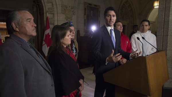 Justin Trudeau Says the Pope Should Say Sorry for Abuse of Aboriginal People in Canada