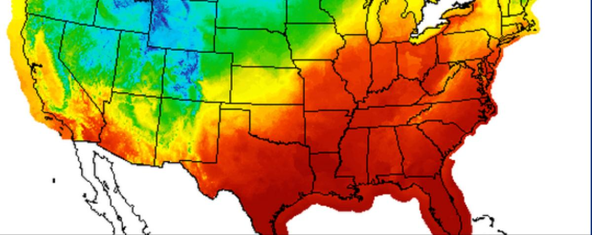 It's Going to Be a Wet, Hot Christmas for Much of the US