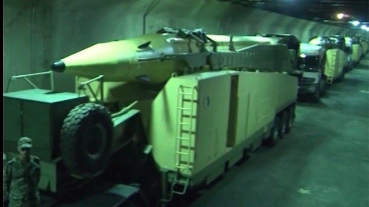 The Speaker of Iran's Parliament Just Toured an Underground Bunker Filled With Missiles