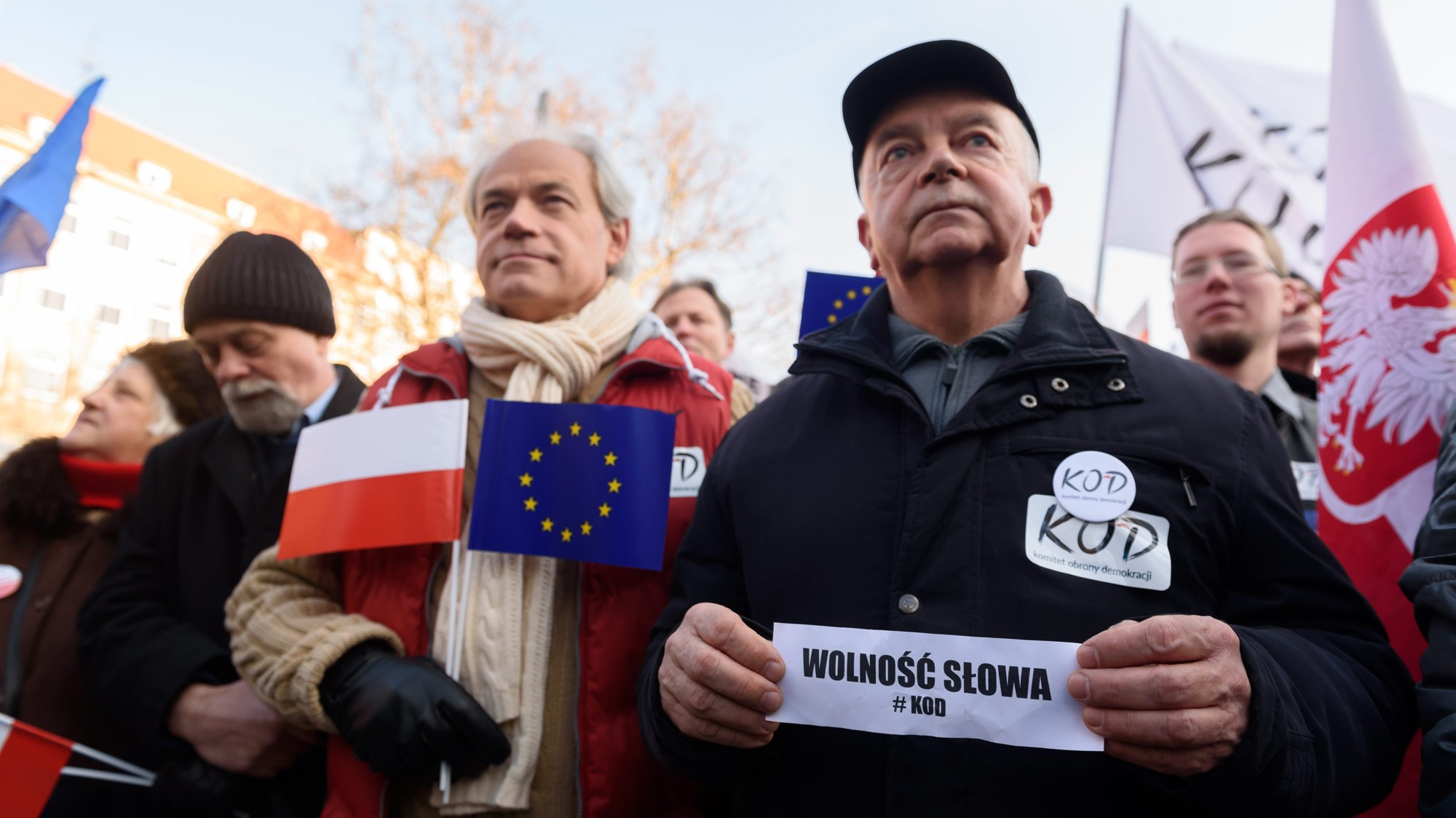 Poland's Right-Wing Government Scares Europe by Going After the Media