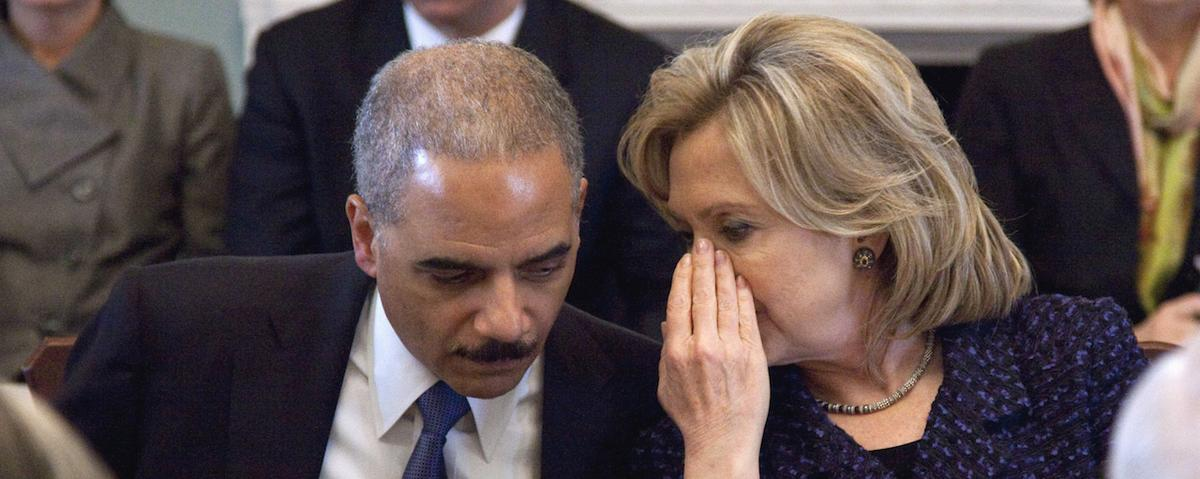 Former US Attorney General Eric Holder Endorses Hillary Clinton for President