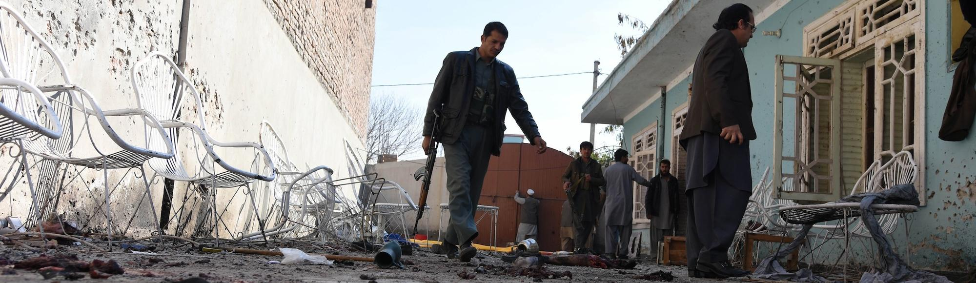 Suicide Bombing Kills 13 at Welcome Home Party for Prisoner Released by the Taliban