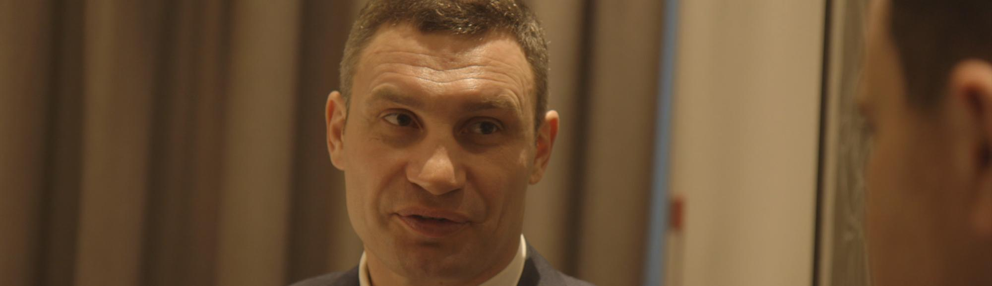 Kiev's Heavyweight Boxing Champ Mayor Wants to Knock Out Corruption in Ukraine