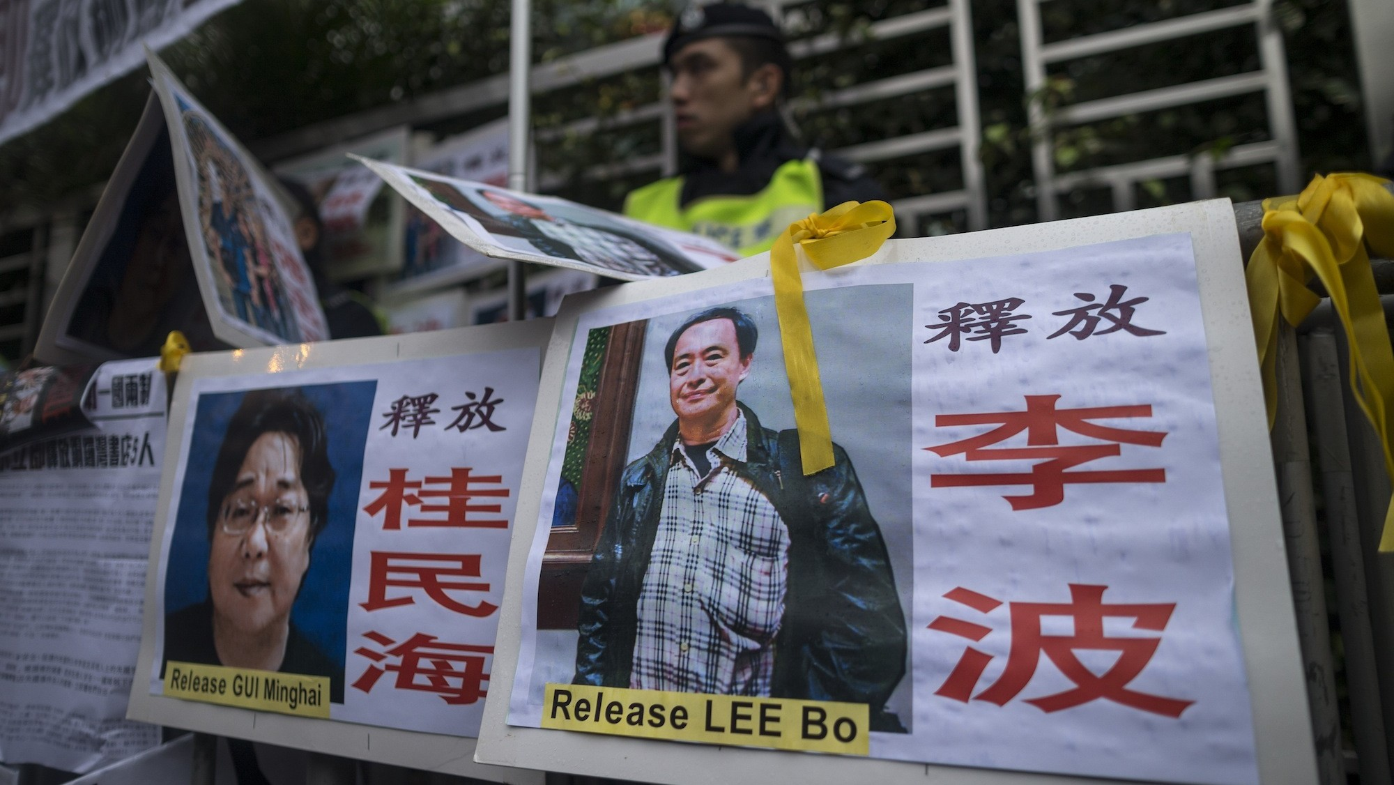 Missing Hong Kong Bookseller's Wife Says He's in China to Help With 'Investigation'