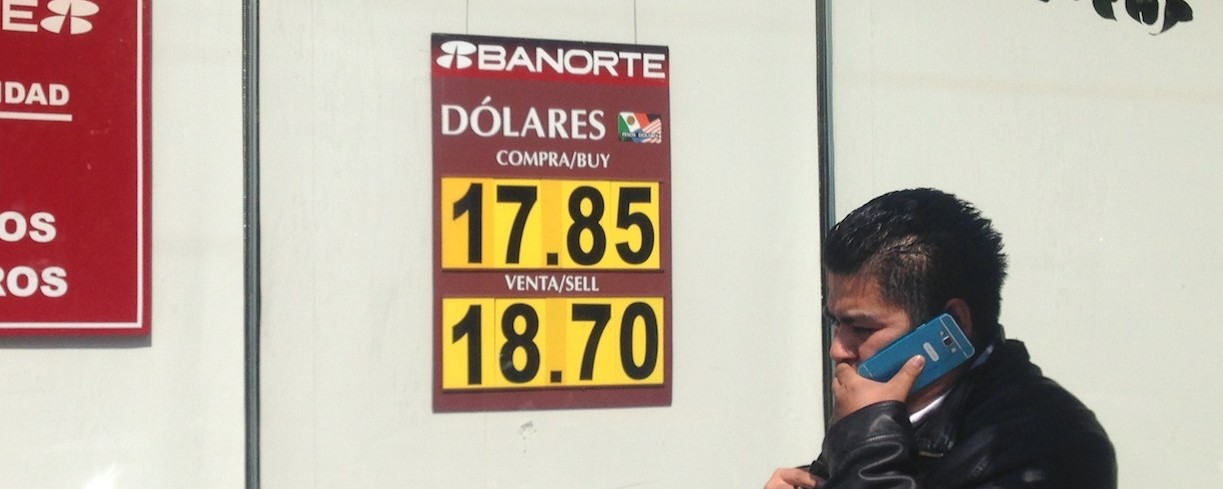 Mexicans Are Worried About Their Plummeting Peso — But One Economist Says They're Lucky