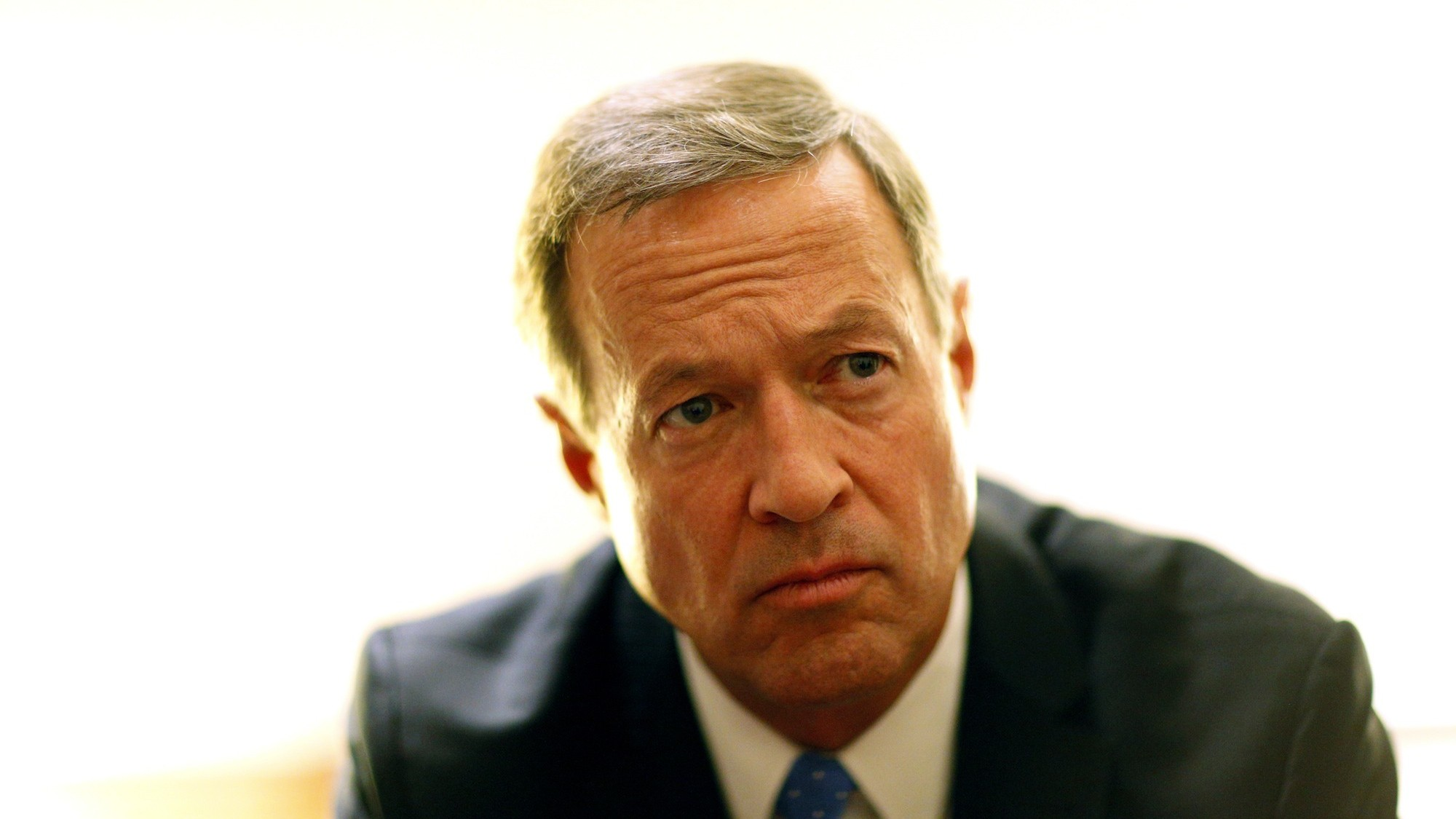 Martin O'Malley Surprises No One, Suspends Campaign After Finishing a Distant Third