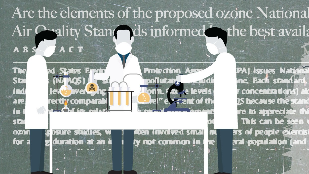 Meet the 'Rented White Coats' Who Defend Toxic Chemicals