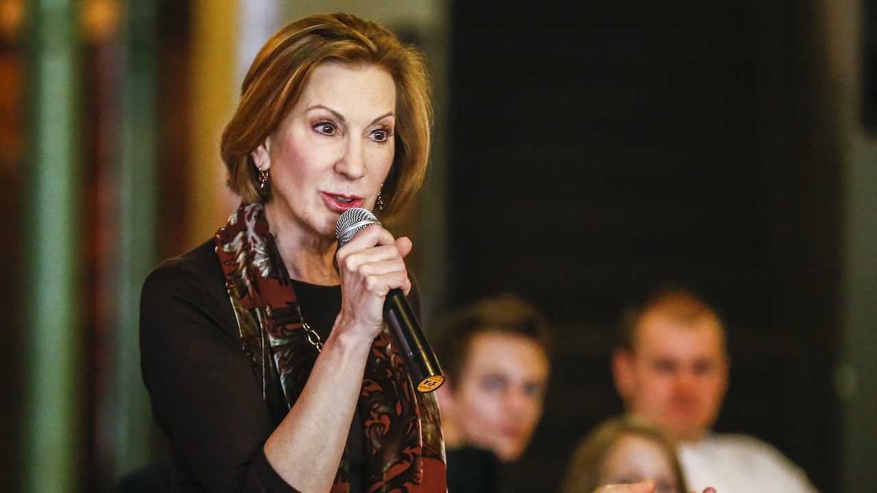 Carly Fiorina Drops Out With Message for Clinton Supporters on Feminism
