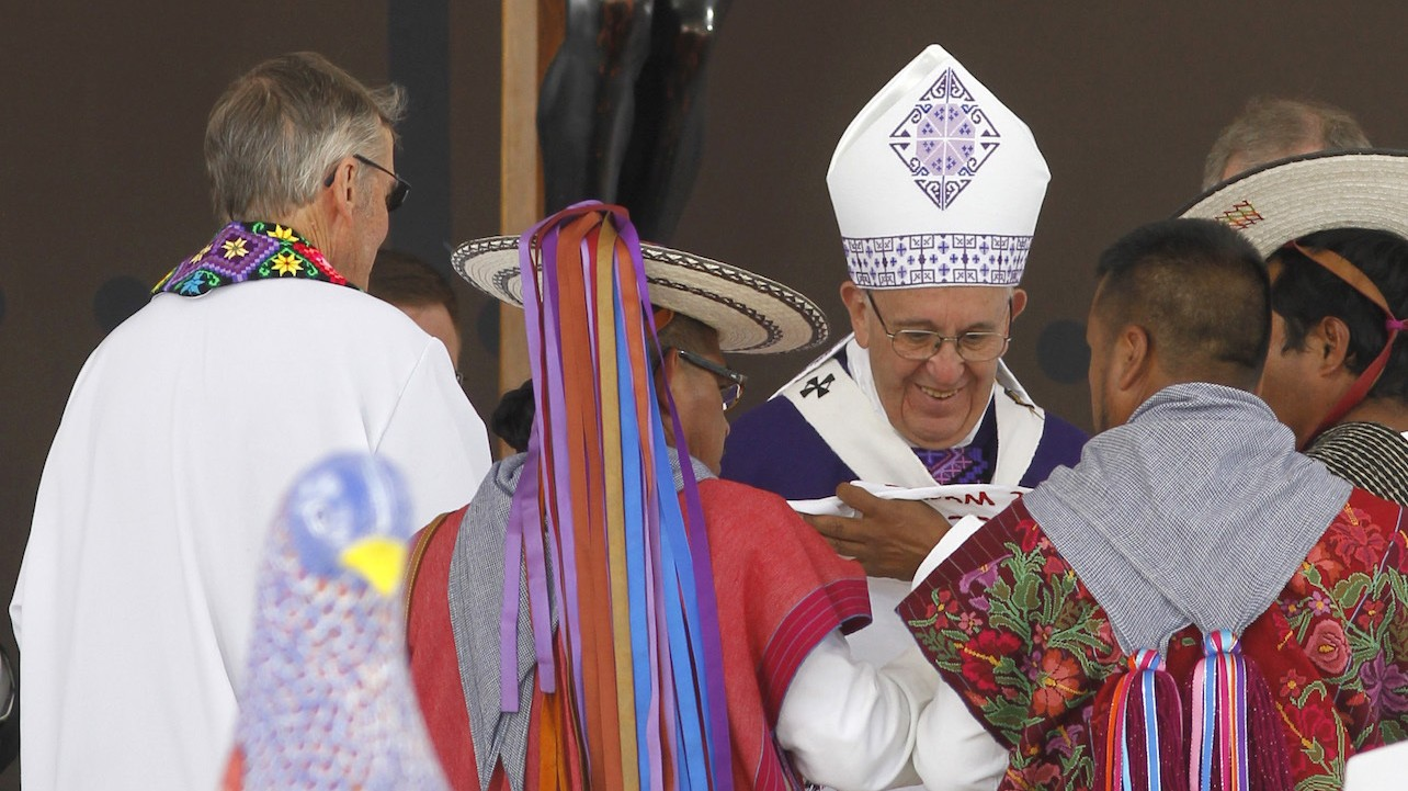 Pope Francis Tells Mexico's Indigenous Peoples: 'Sorry Brothers'