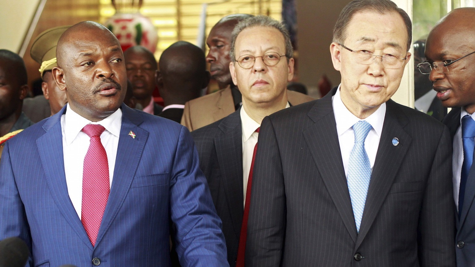 Cautious Optimism Follows Meeting Between Burundi's President and UN Secretary-General