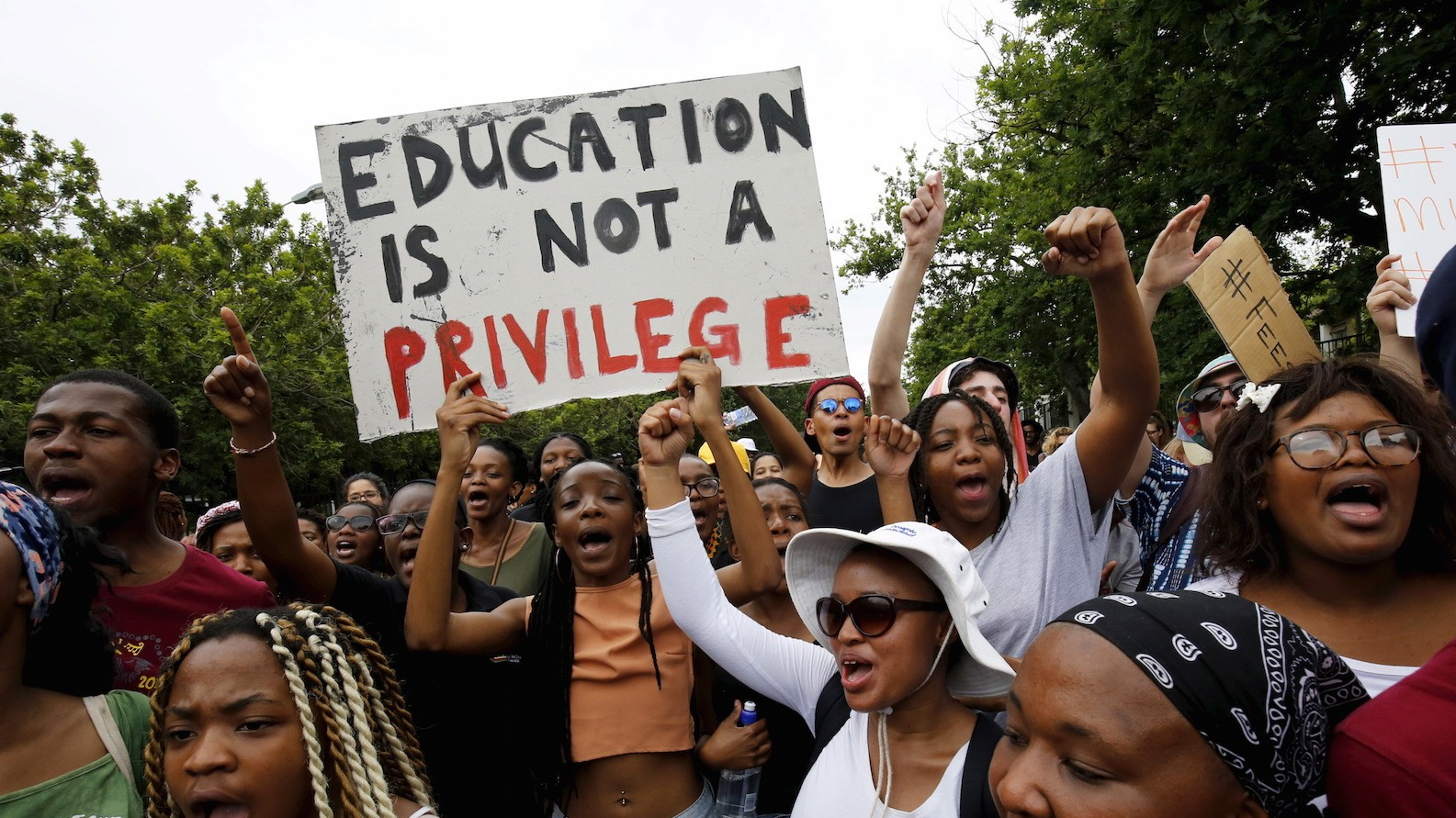 South African University Students Chastised by President Zuma for Torching Buildings