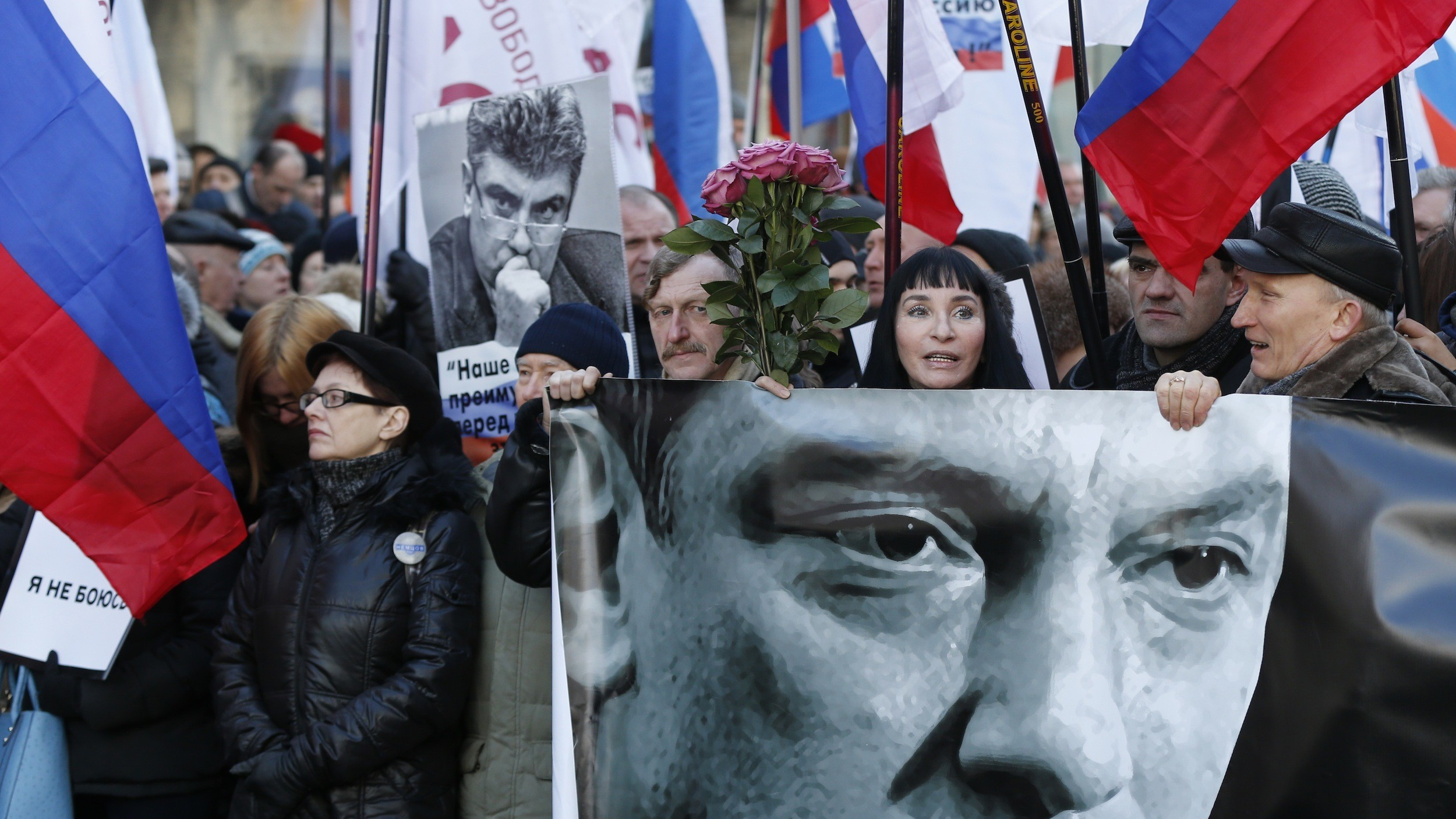 Here's What Happened in Russia on the First Anniversary of the Killing of Boris Nemtsov
