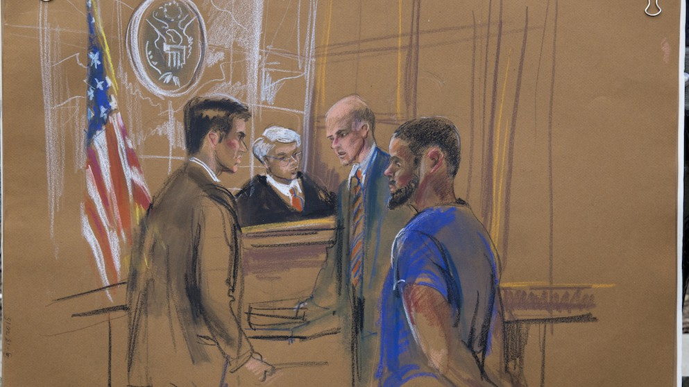 Air Force Vet Stands Trial in Brooklyn for Trying to Join the Islamic State