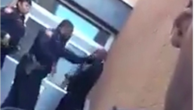 Video of Baltimore Police Officer Slapping and Kicking a Student Triggers Outrage