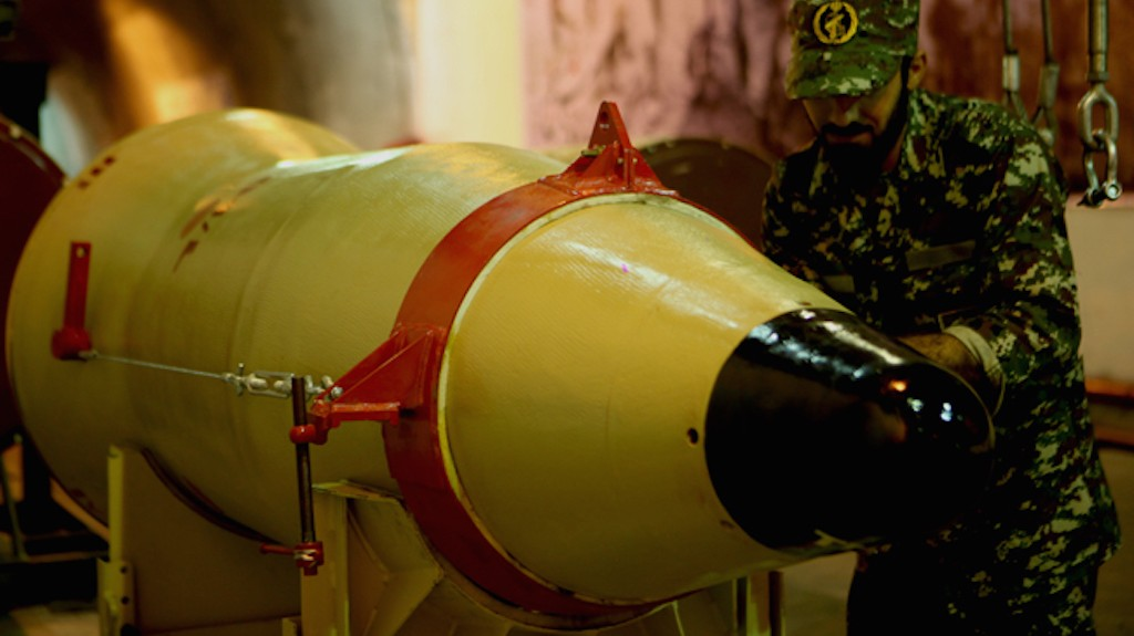 Iran Fires Test Missiles Bearing Phrase 'Israel Must Be Wiped Out' as US Warns of Retaliation