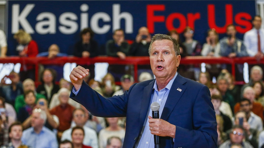 John Kasich Wins Ohio, Reminding Everyone He's Still Around