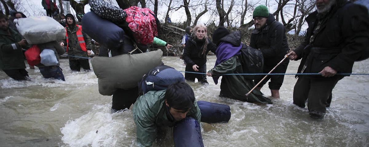 Why Activists Are Being Blamed for the Drowning of Three Refugees in Macedonia