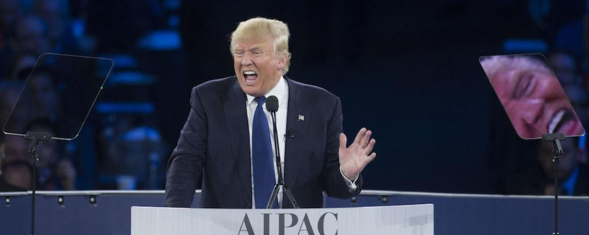 Despite Threats of Protests, Donald Trump Wins Over the Pro-Israel Crowd at AIPAC