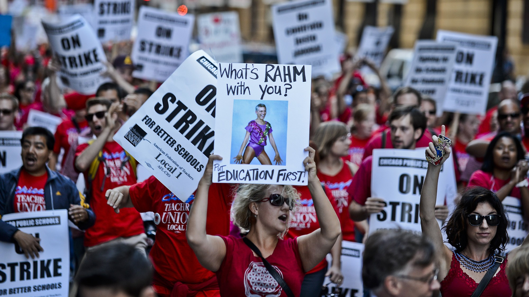 The Chicago Teachers' Strike Is Unlike Any Other in Recent Memory