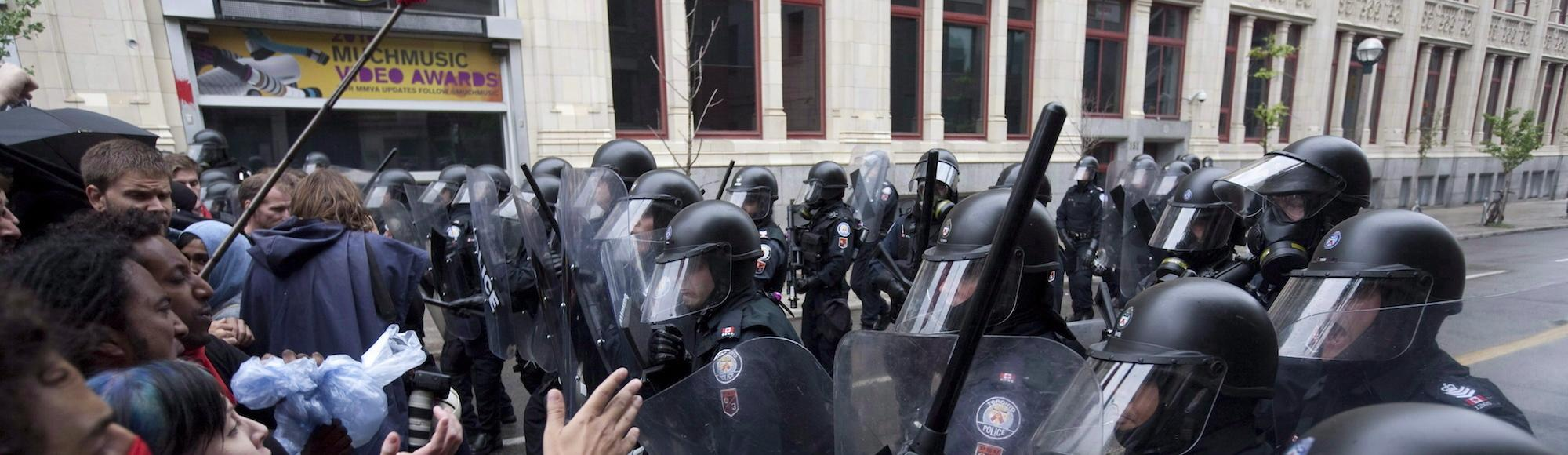 Court Rules That Hundreds of People Detained During Toronto's G20 Summit Can Sue Cops
