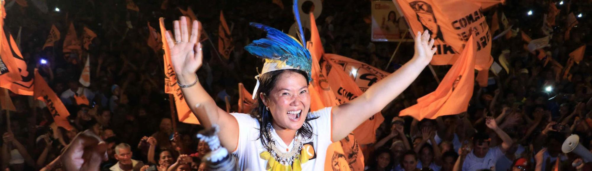 Keiko Fujimori's Chances of Becoming Peru's President Depend on Her Jailed Dad's Legacy