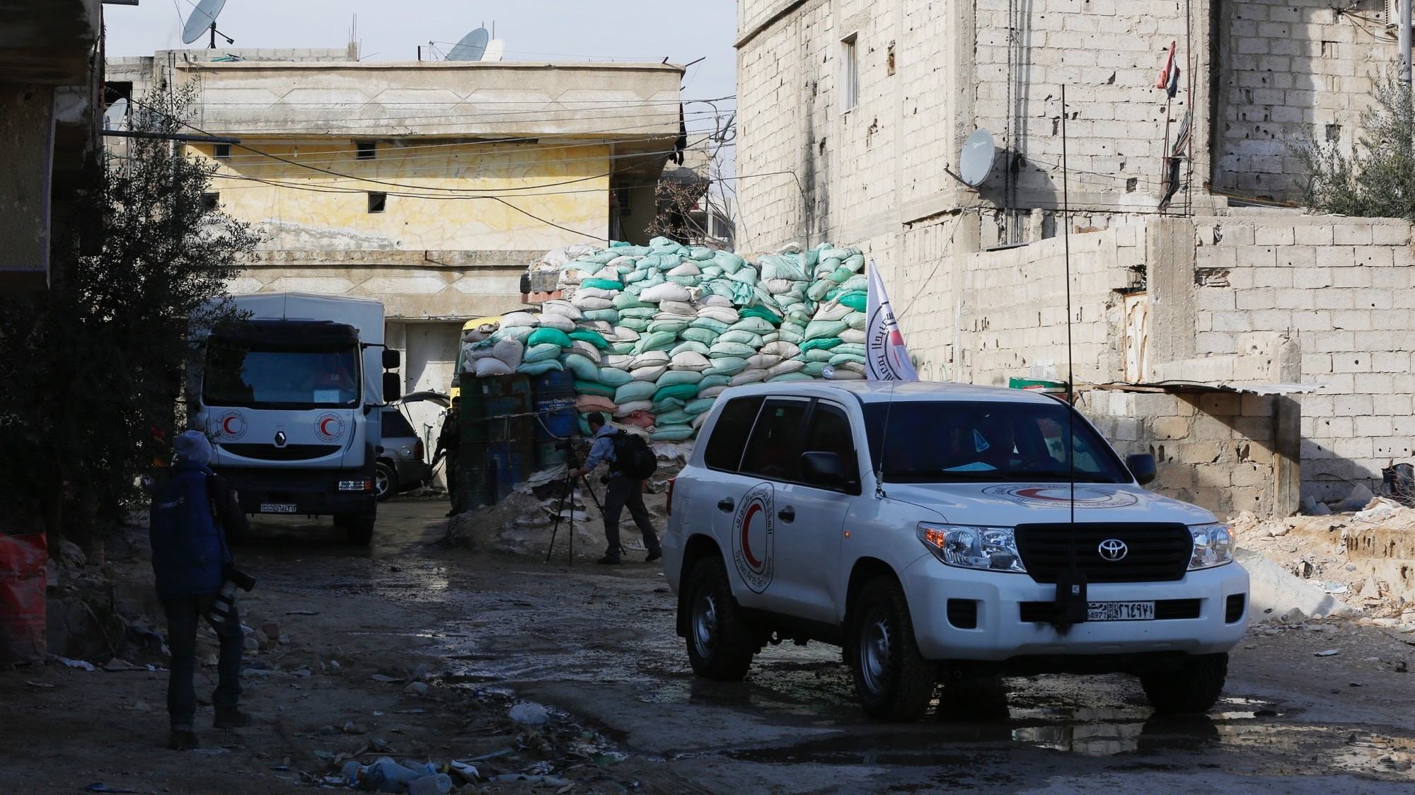 The Syrian Regime Is Blocking Aid to Hundreds of Thousands in Dire Need, Despite Ceasefire