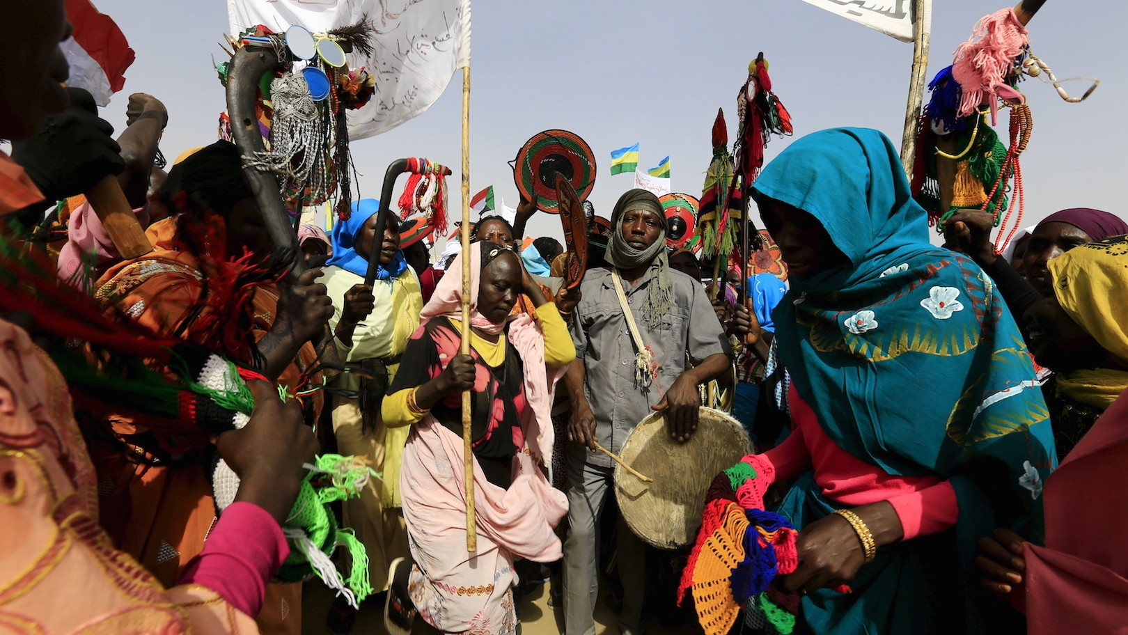 Darfur Voters Cast Ballots in Referendum Over State Unification