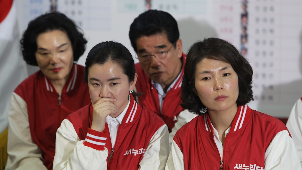 South Korea's Ruling Conservatives Suffer Shock Election Loss