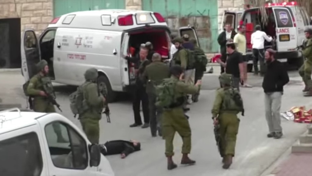 An Israeli Soldier Who Shot a Subdued Palestinian Will Be Charged With Manslaughter