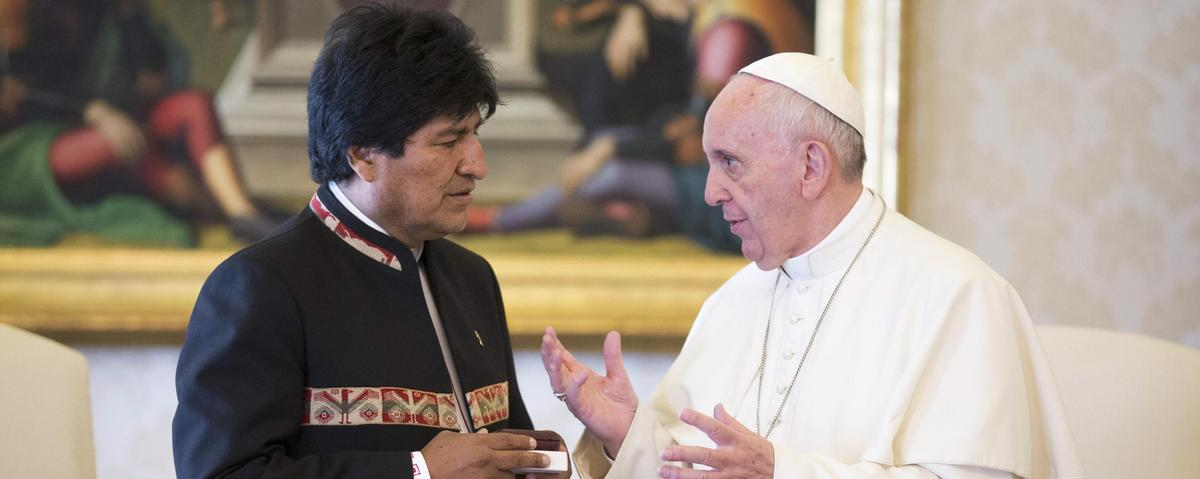 Bolivia's President Suggested the Pope Try Coca
