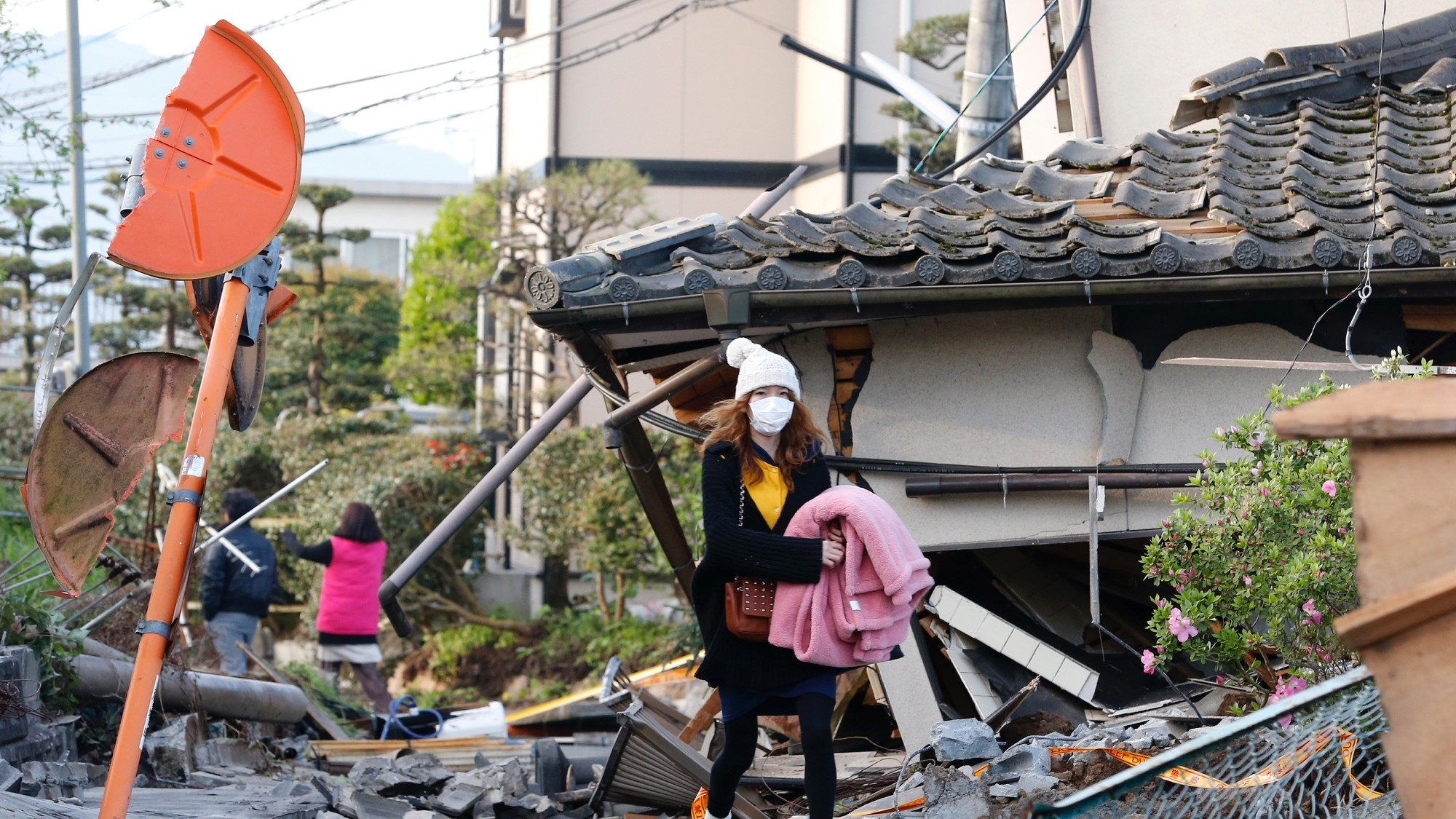 Second Powerful Earthquake Kills Dozens in Southwestern Japan