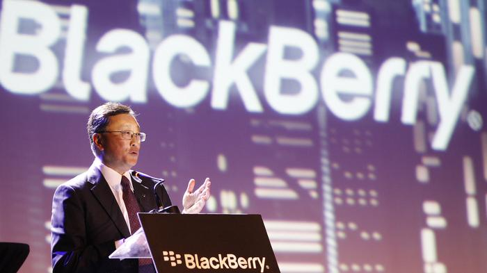 BlackBerry's CEO Won't Answer Media Calls, Instead He Blogged About Cooperating With Canadian Cops