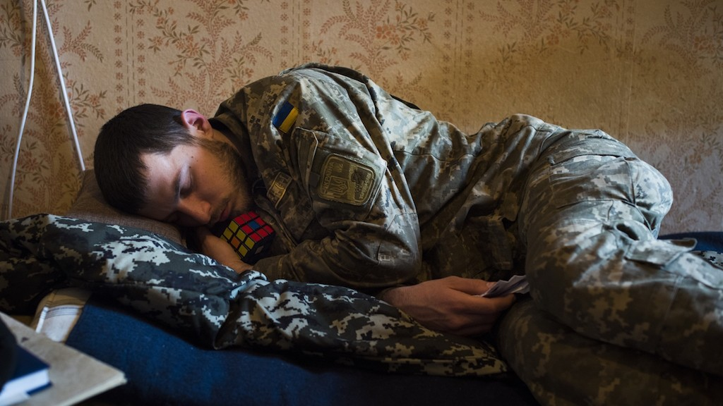 When War Becomes Routine: A Week with Ukraine's Weary-Eyed Soldiers